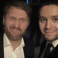 Менталист Николоз Цаава и Андрей Рожков